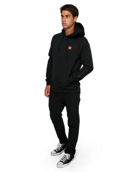 BLACK MENS CLOTHING RVCA JUMPERS - RV-R391153-BLK