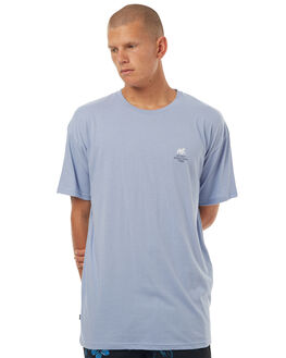 SOLID CORNFLOWER BLU MENS CLOTHING STUSSY TEES - ST072015SCBLU