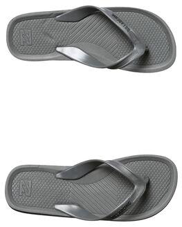 GREY MENS FOOTWEAR BILLABONG THONGS - 9671941GRY