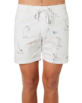 OFF WHITE MENS CLOTHING BANKS BOARDSHORTS - BS0208OWH