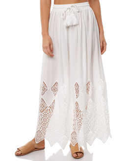 WHITE LACE WOMENS CLOTHING WILDE WILLOW SKIRTS - K367-WWHT