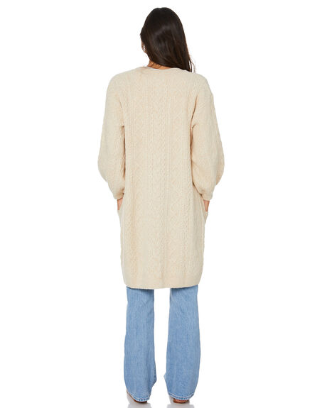 CREAM WOMENS CLOTHING TIGERLILY KNITS + CARDIGANS - T613131CRM