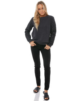 ANTHRACITE WOMENS CLOTHING ROXY JUMPERS - ERJFT03721KVJ0