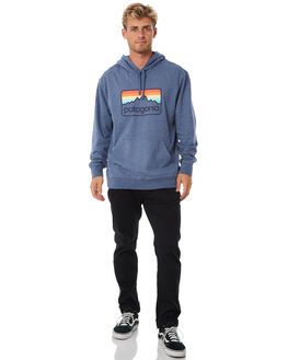 DOLOMITE BLUE MENS CLOTHING PATAGONIA JUMPERS - 39489DLMB