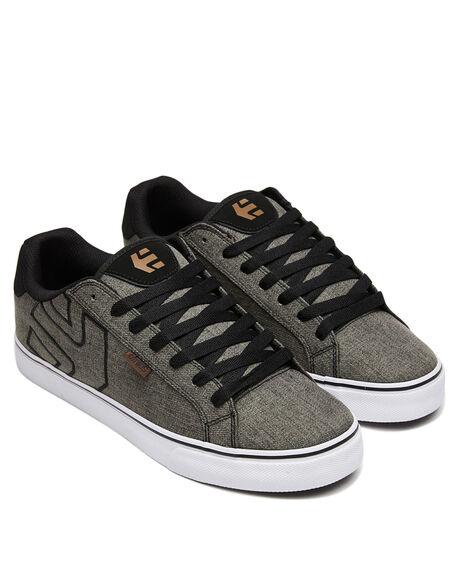 GREY BLACK GOLD MENS FOOTWEAR ETNIES SNEAKERS - 4101000282037