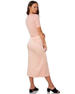 LIGHT PEACH OUTLET WOMENS THE FIFTH LABEL SKIRTS - 40190948LTPCH