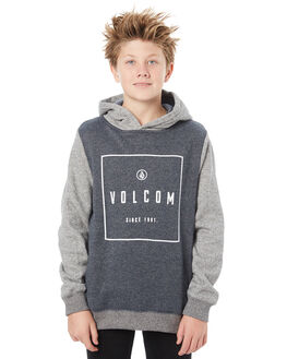 NAVY KIDS BOYS VOLCOM JUMPERS - C4111806NVY