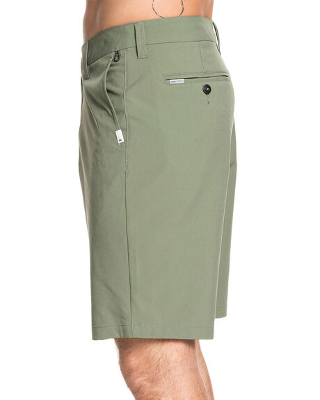 AGAVE GREEN MENS CLOTHING QUIKSILVER SHORTS - EQYWS03625-GZC0