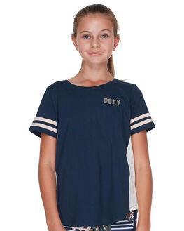 DRESS BLUES KIDS GIRLS ROXY TEES - ERGZT03336BTK0