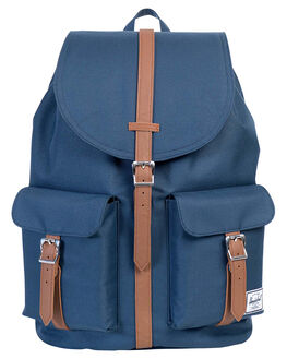 NAVY TAN MENS ACCESSORIES HERSCHEL SUPPLY CO BAGS - 10233-00007-OSNVY