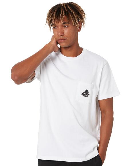 WHITE MENS CLOTHING XLARGE TEES - XL002100WHT