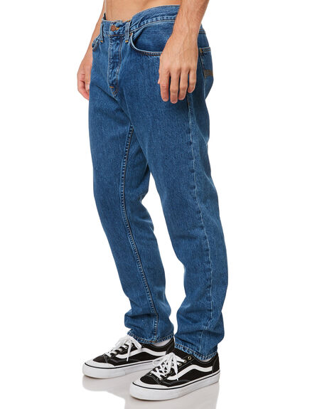 FRIENDLY BLUE MENS CLOTHING NUDIE JEANS CO JEANS - 113593FBL