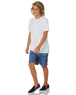 NAVY KIDS BOYS SWELL BOARDSHORTS - S3193233NAVY