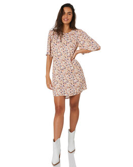 MULTI WOMENS CLOTHING MINKPINK DRESSES - MP1909452MULTI