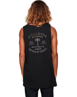 BLACK MENS CLOTHING BILLABONG SINGLETS - BB-9592507-BLK