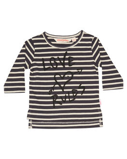 BLACK STRIPE KIDS BABY MUNSTER KIDS CLOTHING - LM172TL01BKSTR