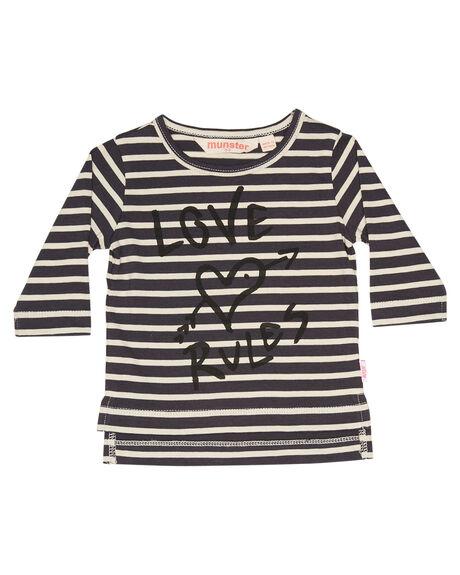 BLACK STRIPE OUTLET KIDS MUNSTER KIDS CLOTHING - LM172TL01BKSTR