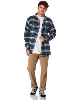 NAVY BLUE MENS CLOTHING PATAGONIA SHIRTS - 53947ACNB