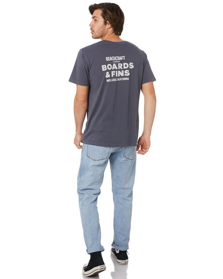 FADED NAVY MENS CLOTHING MOLLUSK TEES - MS1742FNA
