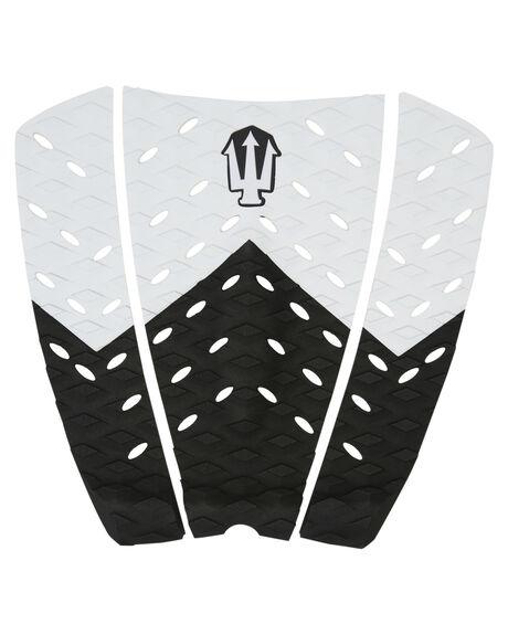 BLACK WHITE BOARDSPORTS SURF FAR KING TAILPADS - 1204BLKWH