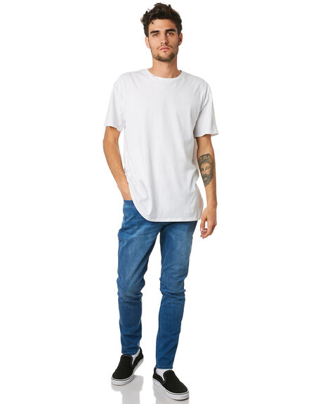 STELLAR BLUE MENS CLOTHING LEE JEANS - L-605510-E81SBLU