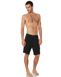 BLACK MENS CLOTHING LIIVE VISION BOARDSHORTS - LBS061BLK
