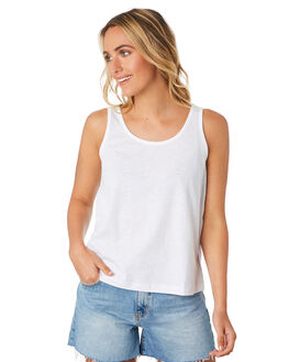 WHITE WOMENS CLOTHING SWELL SINGLETS - S8201271WHI