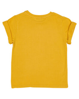 YELLOW WASH KIDS TODDLER BOYS ROCK YOUR BABY TOPS - TBT1827-MMYELW