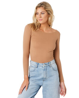 FAWN WOMENS CLOTHING SWELL TEES - S8194100FAWN