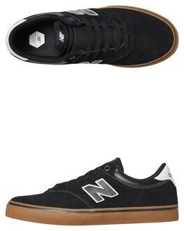 BLACK GUM MENS FOOTWEAR NEW BALANCE SKATE SHOES - NM255BKG