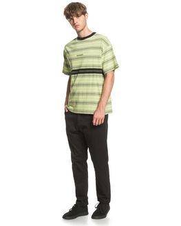 GREEN GLOW MENS CLOTHING QUIKSILVER TEES - EQYKT03962-GFW3