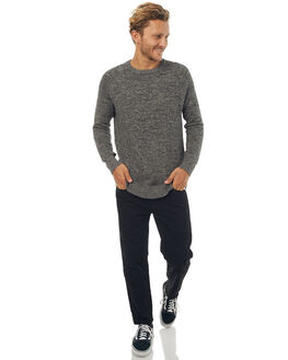 BLACK MENS CLOTHING SWELL KNITS + CARDIGANS - S5171147BLK