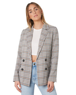 MULTI WOMENS CLOTHING MINKPINK JACKETS - MP1809483MUL