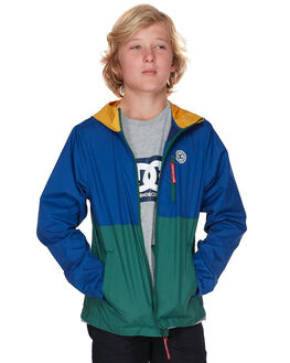 SODALITE BLUE KIDS BOYS DC SHOES JUMPERS + JACKETS - EDBJK03037BYB0
