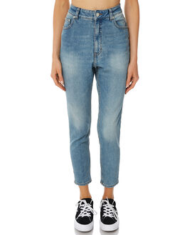 PENNY BLUE WOMENS CLOTHING CHEAP MONDAY JEANS - 0446150PBLU