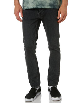 GREY STARDUST MENS CLOTHING NUDIE JEANS CO JEANS - 113277GRYST