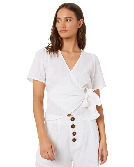 WHITE WOMENS CLOTHING THE FIFTH LABEL FASHION TOPS - 40190971WHT