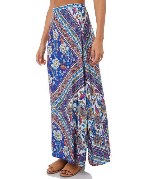 BLUE WOMENS CLOTHING ARNHEM SKIRTS - ARSKBL04BLU