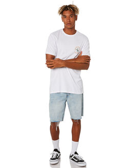 WHITE MENS CLOTHING RIP CURL TEES - CTEYF21000