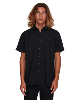 BLACK MENS CLOTHING BILLABONG SHIRTS - BB-9581209-BLK