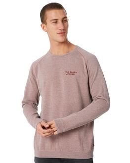 ASH ROSE MENS CLOTHING BANKS JUMPERS - WFL0126ASR
