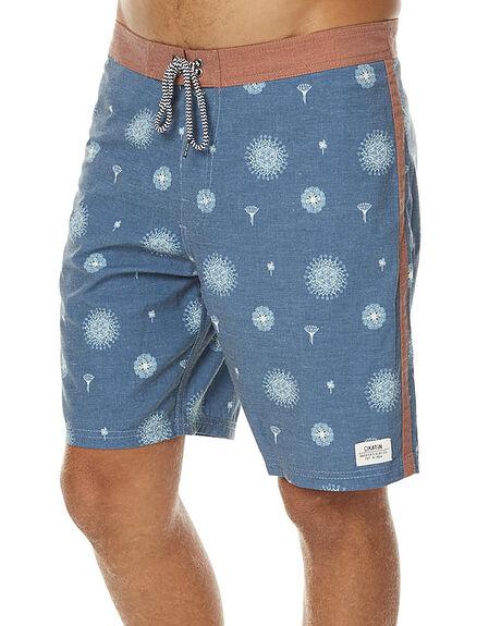 BLUE MENS CLOTHING KATIN BOARDSHORTS - TRCRE16BLU