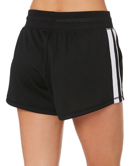 BLACK WOMENS CLOTHING LORNA JANE ACTIVEWEAR - 111966BLK