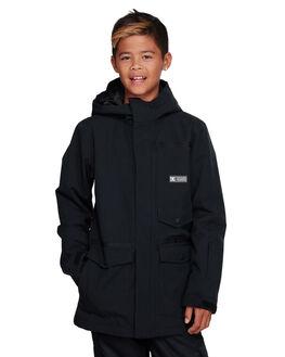 BLACK BOARDSPORTS SNOW DC SHOES KIDS - EDBTJ03027-KVJ0