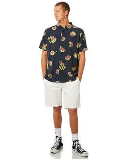 NAVY MENS CLOTHING AFENDS SHIRTS - M184206NVY
