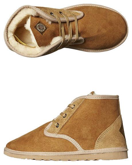CHESTNUT MENS FOOTWEAR UGG AUSTRALIA UGG BOOTS - DESCHE