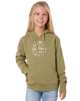 BROWN KIDS GIRLS SWELL JUMPERS + JACKETS - S6204542BROWN