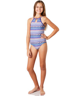 BRIGHT BLUE KIDS GIRLS RIP CURL SWIMWEAR - JSIDH14286