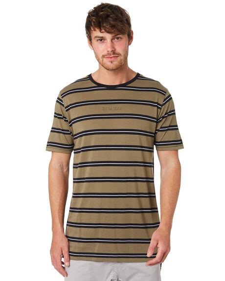 GRASS BLACK MENS CLOTHING ZANEROBE TEES - 130-VERGRBLK