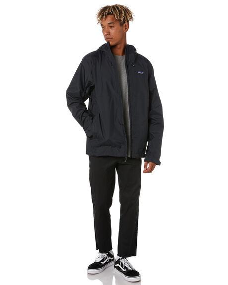 BLACK MENS CLOTHING PATAGONIA JACKETS - 85240BLK